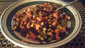 Black Rice w_mixed veggies