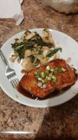 Teriaki Salmon
