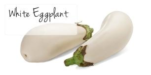 eggplant white